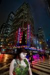 Antler Girl Lost in New York by THE-BRAT-05