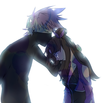 [KakaRuri]Don't cry.. by 13Hael