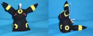 Umbreon Bell Plush by Sexual-Pancake