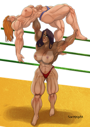 [C] Wrestling Match 07 by roemesquita