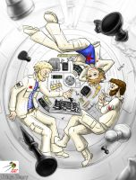 Chess game in space by Lesovic
