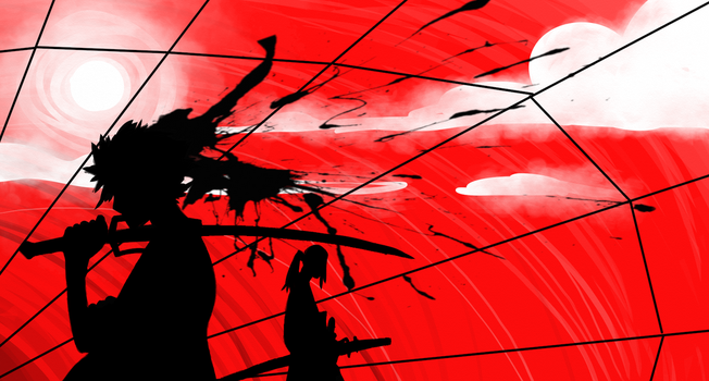 Samurai champloo doodle by cross-the-swirl