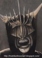 Mouth of Sauron by FredrikEriksson1