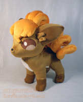 Pokemon: Vulpix Plush Version 2
