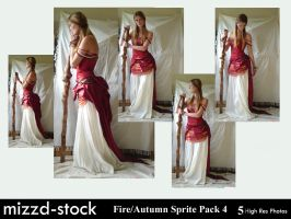 Fire+Autumn Sprite Pack 4 by mizzd-stock