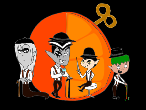 Real Horrorshow, droogs, real horrorshow....... by Roses-and-Feathers