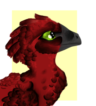 Raptor Red by ToxicKittyCat