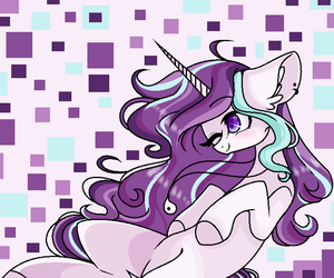 mlp fan art for Magical Brownie by nocturna76