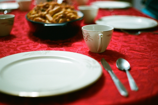 Dinner Table Close-Up by Caligari-87
