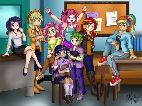 My Even Better Version of Equestria Girls by teammagix