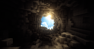 Beautiful day in Minecraft by TheEvOlLuTiOnS