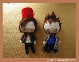 Commission: 10th and 11th Doctor by Yuki87