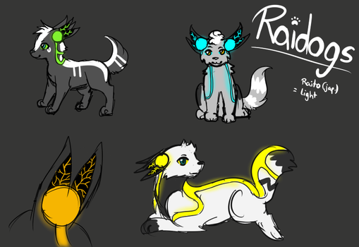 theme challenge: Raidogs open species! by Lizzara
