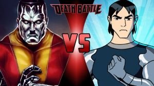 Colossus vs. Kevin Levin by OmnicidalClown1992