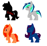 Unicorn Adoptables .:Free:. by paragonthapuppy