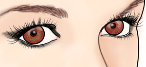 Eyes Detail 2D Mindless by MindlessAngel