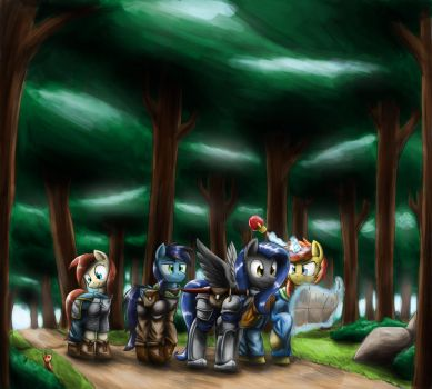 Adventuring Party by otakuap