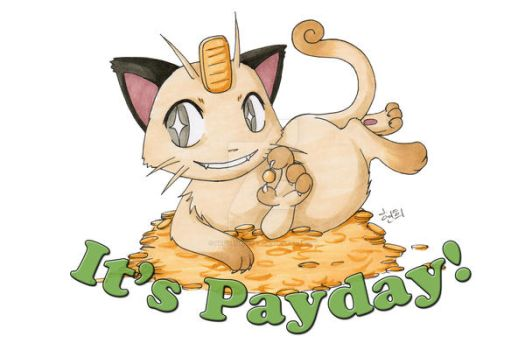 Pokemon: It's Payday by BrokenPuppet