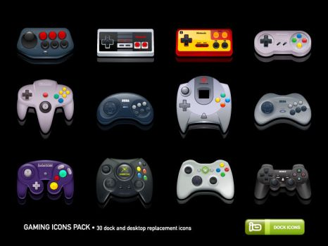 Gaming Icons Pack by deleket