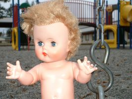 Dolly at the playground 9 by JensStockCollection
