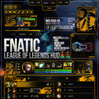 Fnatic Team League of Legends HUD by LeftLucy