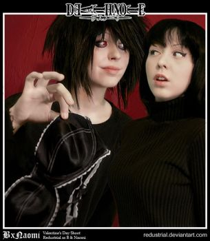 Death Note: Beyond and Naomi: Yours? by Redustrial-Ruin