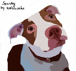 Sparky by scribbcake