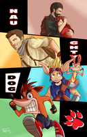 Naughty Dog Tribute by TheFresco