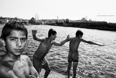 istanbul in swimming by enderefe