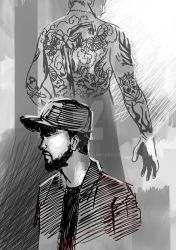 (2018) fan art : Mike and Chester by taurustrin