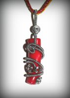 Wire wrapped coral by marsvar