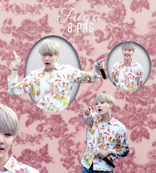 Suga {BTS} 8Png Pack #001 by HappyFaceIrene
