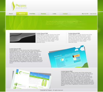 Peppas - personal site by peppas
