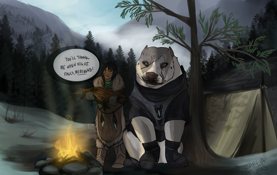 [RoF] - Fortitude: Try to Stay Warm by tsareia