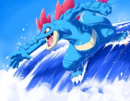 original SUrf on Feraligatr
