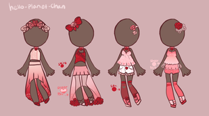 [outfit set] - cthonicsquid [6] by hello-planet-chan