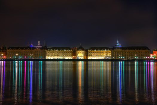 Place de la Bourse Bordeaux by CyrilRoussy