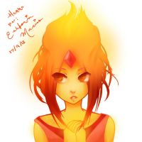 Flame Princess by tsukihime-93