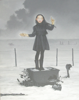 Rain and the Reindeer by kolaboy