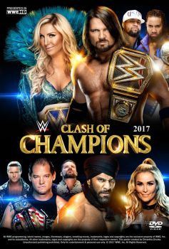 WWE Clash of Champions 2017 Poster by Chirantha
