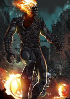 Ghost Rider by panelgutter