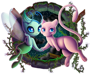 Mythical Duo by ailaghast