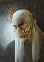 Thranduil of the Woodland Realm by Caoranach