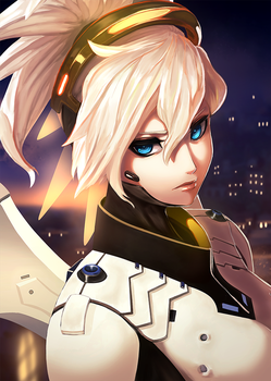 Mercy Overwatch CTiahao by CTiahao
