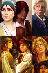 Young Pirates of the Caribbean by Rainbow-Pastel