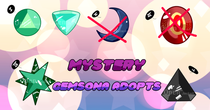 [Open] Mystery Gems #2 (3/5) by Jaska610