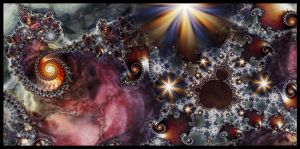 A Mandelbrot Universe by Lucy--C