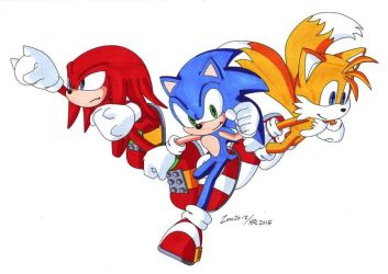 Collab: We're SONIC HEROES! by MightyRay