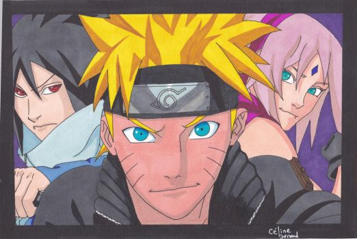 Team 7 Naruto by Sakuchane