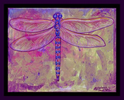 Dragonfly Bug Insect Wings bugs winged purple by StephanieSmall